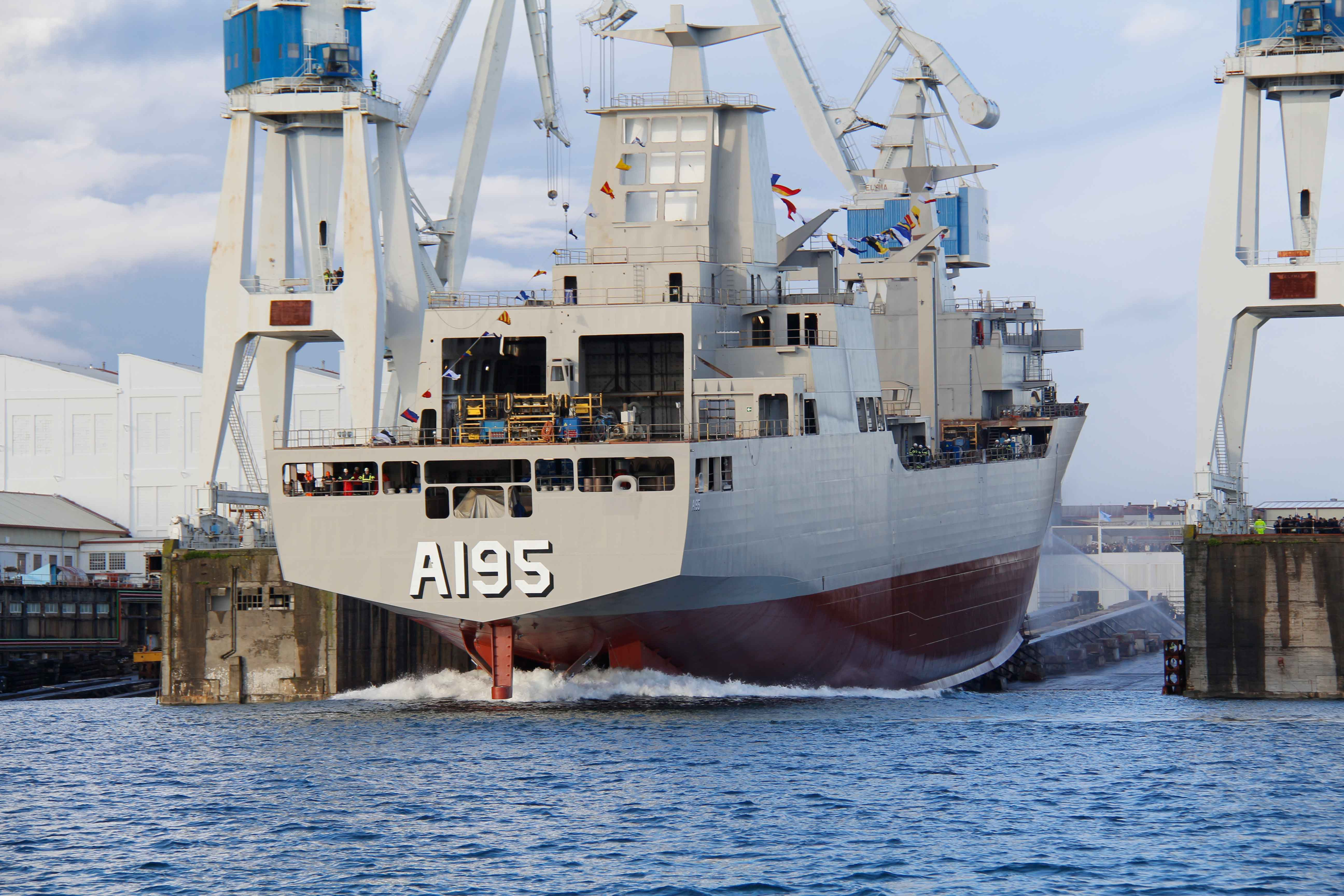 Navantia launches Nuship Supply for the Royal Australian