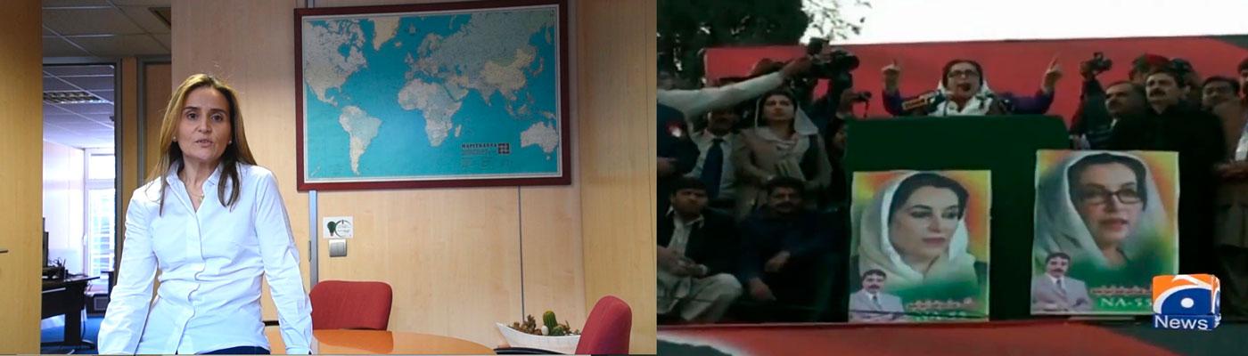 Pilar Heras de RRHH de Navantia habla de la política Benazir Bhutto con motivo del Día Internacional de la Mujer