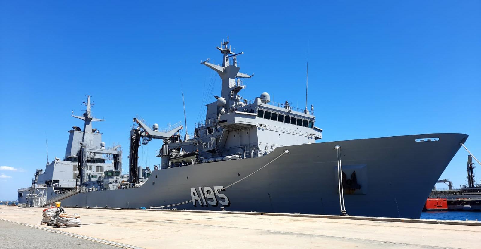 Entrega del Supply, el segundo AAOR a Australia