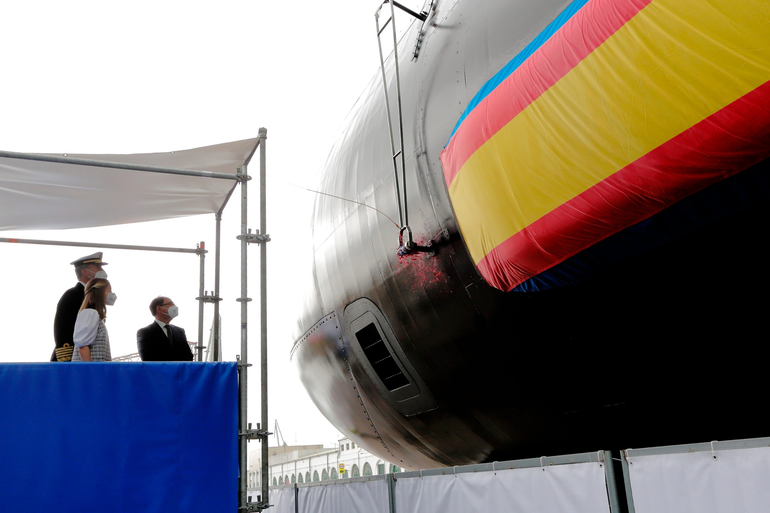 puesta flote submarino S81