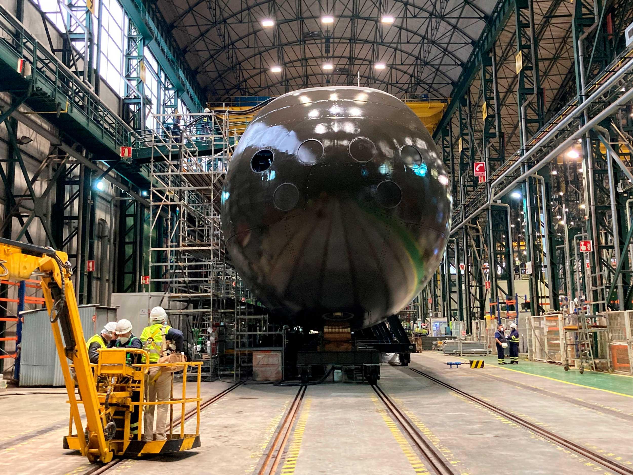 Submarino S81 en Cartagena