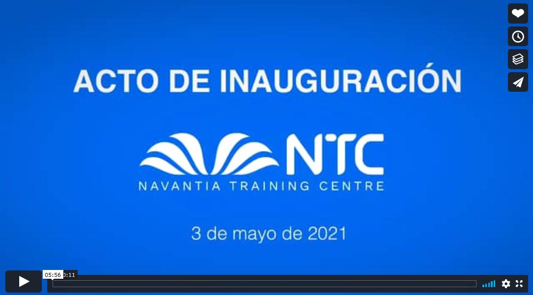 Acto de inauguración del Navantia Training Center