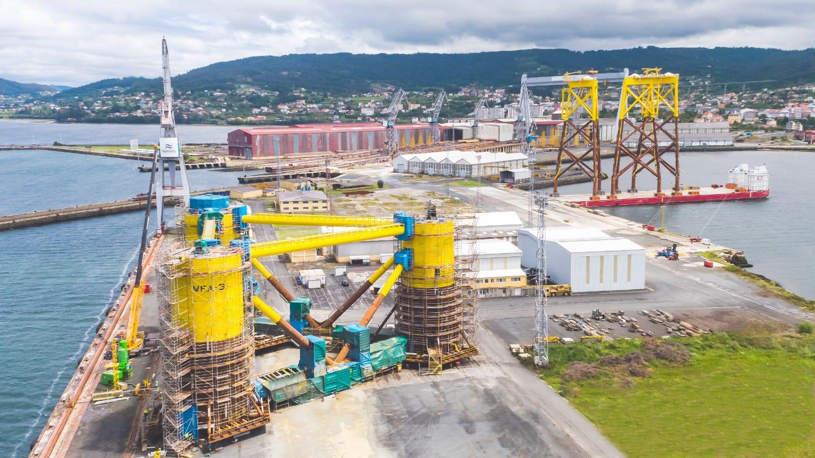 Colaboración entre Harland & Wolff, Navantia y Windar para parques eólico marinos